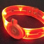 Overmoulded LED wrist band